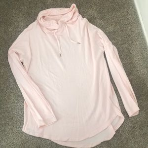 A New Day - Cowl Neck long sleeve, pink, size M